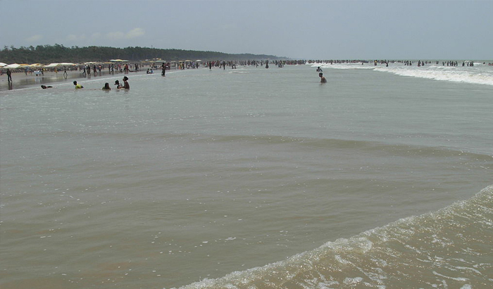 Kolkata's most popular attractions: Digha Beach.